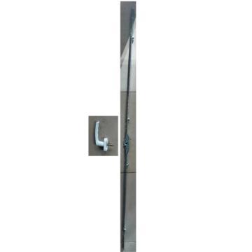 8113820西域推荐 塑料窗把手,不开下悬,孔距35mm