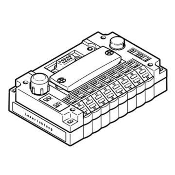 费斯托FESTO 电磁阀电接口,CPV10-GE-DI02-8,546188