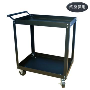Raxwell 鋼制二層手推車,承重:200kg,尺寸(長*寬*高mm):740*410*865,RHTC0011