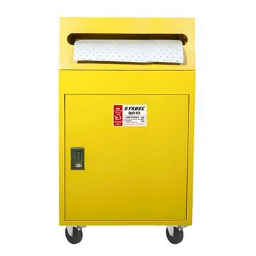 西斯贝尔SYSBEL 56加仑泄漏应急处理推车套装(油类),SYK562