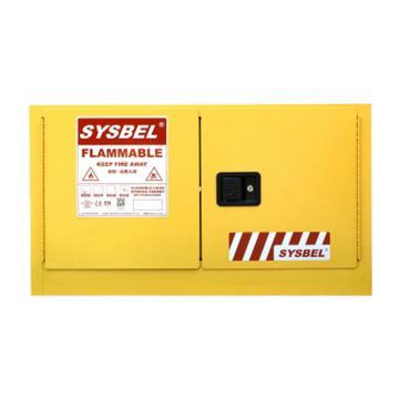 西斯贝尔SYSBEL 壁挂式易燃液体安全柜,FM认证,17加仑/64升,双门/手动,不含接地线,WA810170