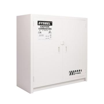 西斯贝尔SYSBEL PP耐酸碱安全柜(台下式),24加仑/90升,双门/手动,ACP810024