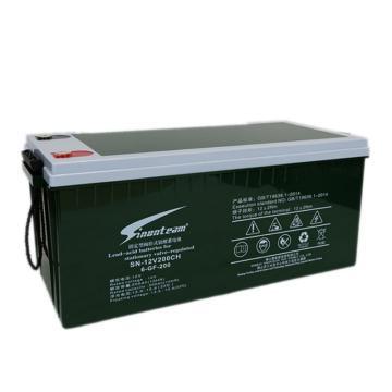 阳光赛能SINONTEAM 蓄电池,6-GFM-200,200AH,12V