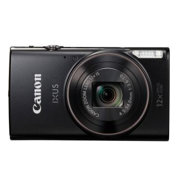 佳能IXUS 285 HS 数码相机 黑色(2020万像素 12倍光学变焦 25mm超广角支持Wi-Fi和NFC)带64G存储卡
