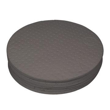 西斯贝尔SYSBEL 通用型油桶垫,Ф55cm,最高吸附量27L/箱,DUP001,25片/箱
