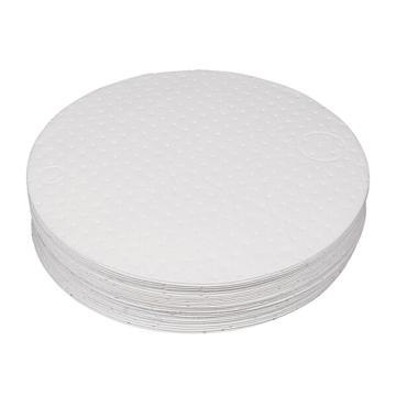 西斯贝尔SYSBEL 油类专用油桶垫,Ф55cm,最高吸附量27L/箱,DOP001,25片/箱