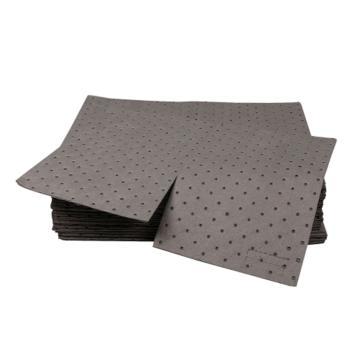 西斯贝尔SYSBEL 重型通用型吸附棉,40×50cm,最高吸附量120L/箱,UP0002G,100片/箱