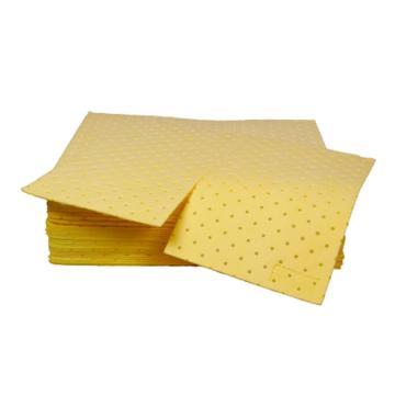 西斯贝尔SYSBEL 重型防化类吸附棉,40×50cm,最高吸附量120L/箱,CP0002Y,100片/箱