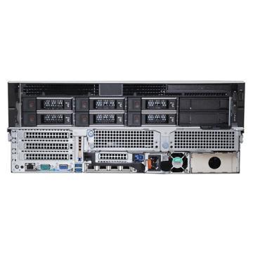 戴爾服務器R740 銅牌3106*2/16GB*2/2TB SAS 7.2K*3/H330+/750W冗電/靜態導軌Server2012 R2/SQL2012