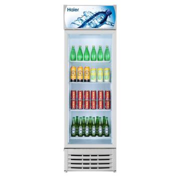 海尔 238L大容积商用立式冷藏展示柜,SC-238,节能照明无死角,双层中空钢化玻璃门