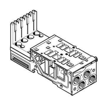 费斯托FESTO 底座,用于MPA-S,VMPA2-AP-2-1-EMM-4,546805