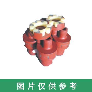 三环 梅花型联轴器,LM8,38*120-14/40*120-12