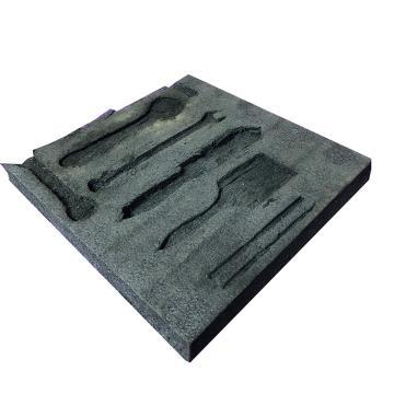 西域推荐 软物料板,黑色 长度2400mm*宽度1100mm*厚度50mm