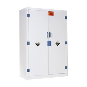弗莱仕 PP酸碱柜(白色,双门/手动,可调层板3块)