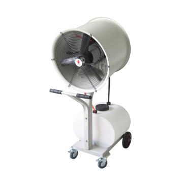 貝菱 移動式離心霧化工業加濕器,SC-LX-YD,220V,650W,射程10米,60L大容量水箱,適用350m2,