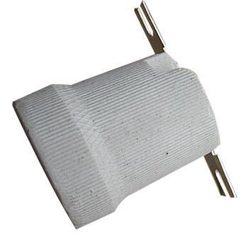 瓷灯头 半螺纹 含一字固定架 E27 单位:个