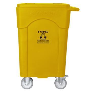 西斯贝尔SYSBEL 便携式洗眼器推车(WG6000A和B配套推车),86×61.5×52cm,WG005