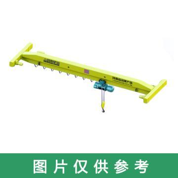 矿源 LDA型电动单梁起重机,额定载荷(吨):1 跨度(m):13,LDA型1T 13M