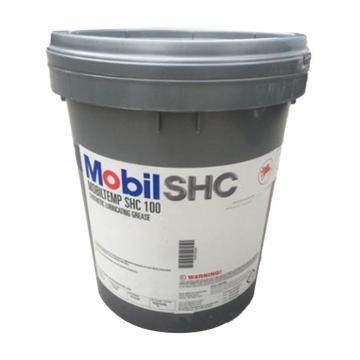 美孚 高溫潤滑脂,TEMP SHC 100,18kg/桶