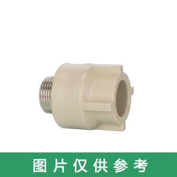 西域推薦 給水用聚丙烯外螺紋異徑直通,PP-R 25×15mm