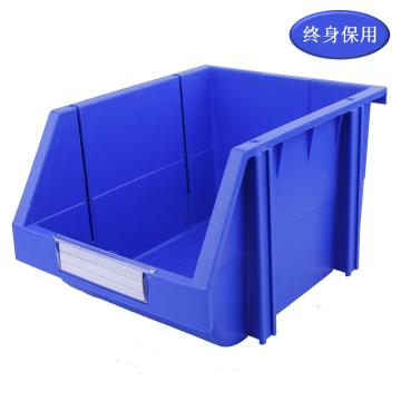 Raxwell 组立背挂零件盒 物料盒,外尺寸规格D*W*H(mm):280×214×175,全新料,蓝色,单位:个