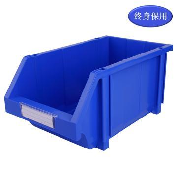 Raxwell 組立背掛零件盒 物料盒,外尺寸規格D*W*H(mm):370×214×175,全新料,藍色,單位:個