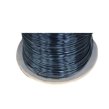 西域推荐 包塑钢丝绳,直径5mm,长度7cm,黑色