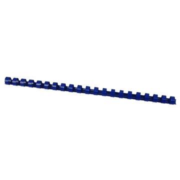 优玛仕 6mm 21孔装订胶圈 蓝色 100个/盒