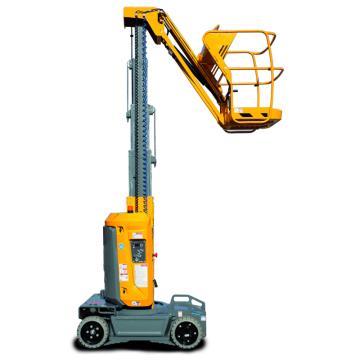 Haulotte 垂直桅杆式高空作业平台,载重(kg):200 工作高度(mm):8.7 平台尺寸(m):0.78*0.98,STAR 8