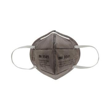 3M 防尘及有机气体口罩,9541,KN95 折叠式活性炭口罩 耳带式 9041升级款,25个/盒