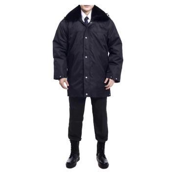 西域推荐 冬季加长款保安棉服,165