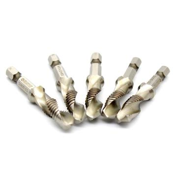 世达SATA 5件套高速钢复合丝锥钻,M8x1.25mm,50808
