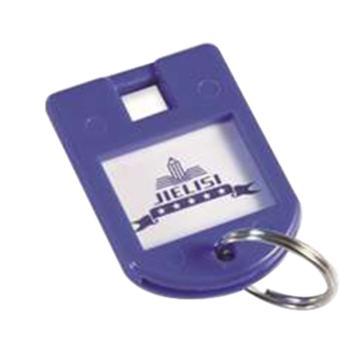 杰麗斯 鑰匙掛環,藍色,087-B,8只/卡
