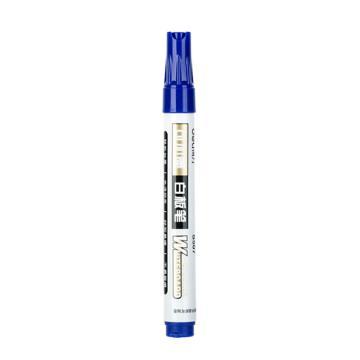 得力 白板筆, 2.0mm 藍色,S507