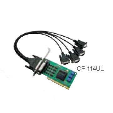 摩莎Moxa 4串口RS-232/422/485Universal PCI串口卡,CP-114UL-DB9M