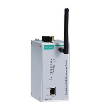 摩莎Moxa 工業無線AWK-1131A能夠在2.4GHz或5GHz頻段下操作,AWK-1131A-EU