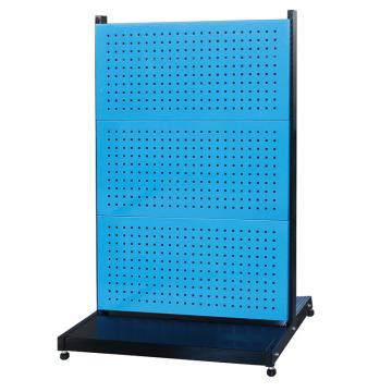 信高 固定型雙面物料架(6方孔),960*640*1515mm,KR-2360,散件發貨,安裝費另詢