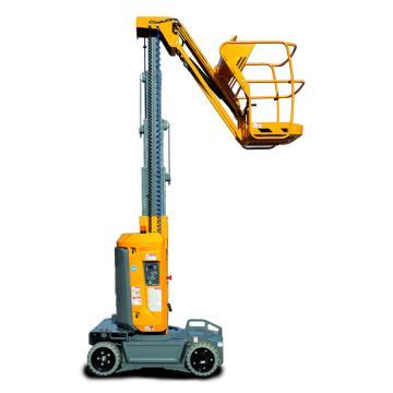 Haulotte 垂直桅杆式高空作业平台,载重(kg):200 工作高度(m):10 平台尺寸(m):0.78*0.98,STAR 10