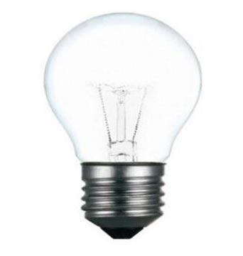 佛山照明 白熾燈泡 P45 功率25W E14 220V, 整箱100個每箱,單位:箱