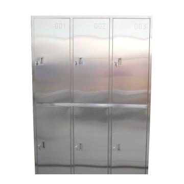 珠海晶电 六人物品柜/更衣柜,GYG/1200*450*1800