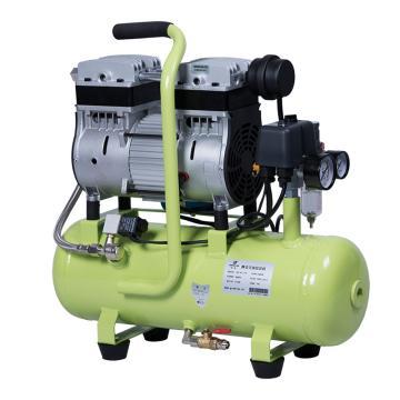 硅萊 便攜式靜音空壓機,排氣量:155L/min,GA-81/15