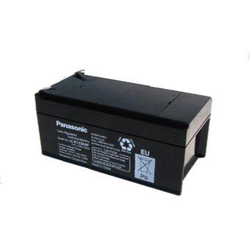 松下Panasonic 蓄电池,12V\3.4AH LC-R123R4,小电器电池