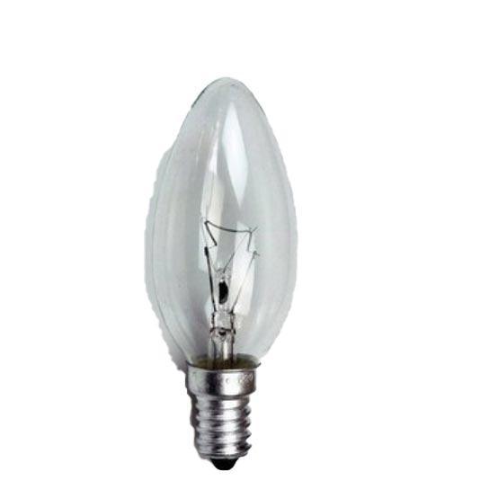 佛山照明 白熾燈泡 蠟燭泡 尖泡 功率25W E14 220V, 整箱100個每箱,單位:箱