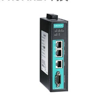 摩莎Moxa 1口Modbus RTU/ASCII/TCP/EtherNet/IP轉PROFINET網關,MGate 5103