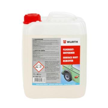 伍尔特 表层除锈剂,0890130,5L/桶