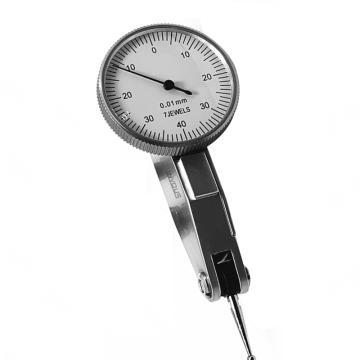 INVOUS 杠杆百分表,0-0.8mm,精度0.01mm