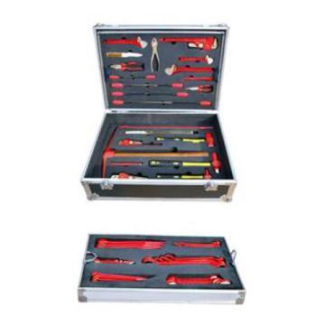 渤防 防爆天然气专用组合工具箱,1396-001 56件套 铝青铜