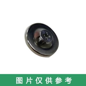 西域推荐 磁铁,直径20厚度3孔5mm配M4螺丝螺帽