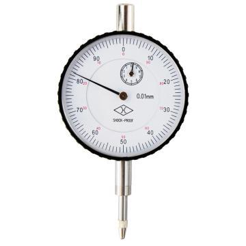 上量 百分表,0-10mm(平行后盖)带钻防震,不含第三方检测