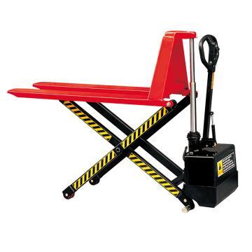 Raxwell 1000Kg剪式升高型电动液压搬运车(加宽),电动起升,RMCF0006